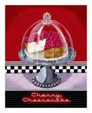 Cherry Cheesecake Posters by Sheri Warren