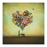 Big Heart Botany Poster af Duy Huynh