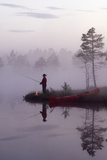 Silent Angling Giclee Print by Peter Lilja