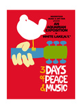 Woodstock - Festival Poster Affiches par  Epic Rights