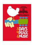 Woodstock - Festival Poster Kunstdrucke von  Epic Rights