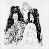 Aerosmith - Draw the Line 1977 Poster von  Epic Rights
