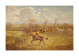 The Meynell - Evening Hunt from Eaton Wood Premium Giclee Print by John King