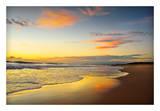 Beach Dawn Art by Tracie Louise