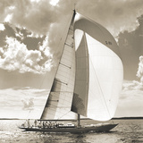Two Schooners Giclee Print by Michael Kahn