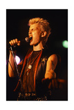 Billy Idol - Beginning of the Road 1982 Photo by  Epic Rights