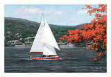 Sail Away Poster by Diane Romanello