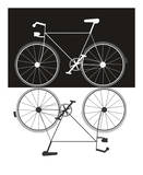 Two Bikes Affiches par Jan Weiss