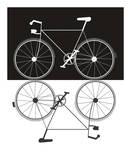 Two Bikes Kunstdrucke von Jan Weiss