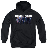 Youth Hoodie: Criminal Minds - Season 10 Cast Pullover Hoodie