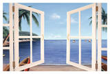 Day Dreams Window Prints by Diane Romanello