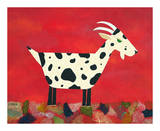 Vincent Van Goat Poster by Casey Craig