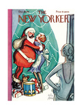 The New Yorker Cover - December 19, 1931 Premium Giclee Print by Peter Arno