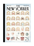 The New Yorker Cover - March 30, 2015 Regular Giclee Print by Barry Blitt