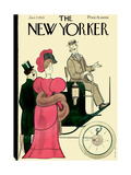 The New Yorker Cover - January 7, 1933 Premium Giclee Print by Rea Irvin