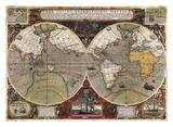Vera Totius Expeditionis Nauticae Poster by Jodocus Hondius