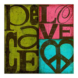 Peace & Love Prints by Suzanna Anna