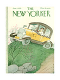 The New Yorker Cover - June 1, 1935 Premium Giclee Print by Rea Irvin