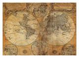 Vintage Map Kunst
