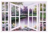 Springtime Symphony Door Posters by Diane Romanello
