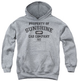 Youth Hoodie: Taxi - Property Of Sunshine Cab Pullover Hoodie