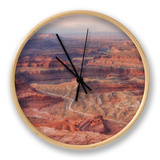 Grand View at Dead Horse Point Clock by Vincent James