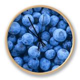 Blueberries, Vaccinium Corymbosum Clock by David Sieren