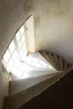 Château de Bussy-Rabutin, escalier de l'aile est Photographic Print by Colombe Clier
