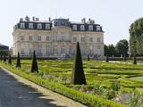 Château de Champs-sur-Marne, façade sur jardin et broderies des parterres Photographic Print by Colombe Clier