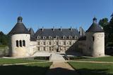 Château de Bussy-Rabutin, façade sur cour Photographic Print by Colombe Clier