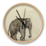 Elephant, C.1790 Clock by Gungaram Tambat
