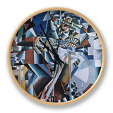The Knife Grinder, 1912-13 Clock by Kasimir Malevich
