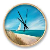 Sunday Sail Clock by Julia Purinton