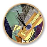 Guitar on a Table; Guitare Sur Une Table, 1916 Ur af Juan Gris