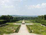 Château de Champs-sur-Marne, vue sur les broderies du jardin Photographic Print by Colombe Clier
