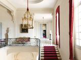 Château de Champs-sur-Marne, escalier d'honneur, palier du premier étage Photographic Print by Colombe Clier