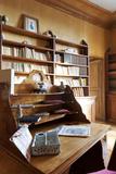 Maison de George Sand, cabinet de travail de George Sand Photographic Print by Colombe Clier