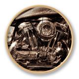 V-Twin Motorcyle Engine Klokke av Stephen Arens