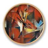 The Fox, c.1913 Clock by Franz Marc