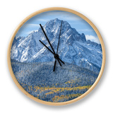 Mount Sneffels after an Early Autumn Snowfall, Near Telluride, Co Clock by Howard Newcomb