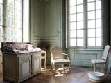Château de Champs-sur-Marne, salle de bains de la chambre grise Photographic Print by Colombe Clier