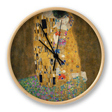 The Kiss, c.1907 Clock by Gustav Klimt