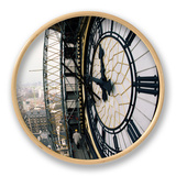 Close-Up of the Clock Face of Big Ben, Houses of Parliament, Westminster, London, England Clock by Adam Woolfitt