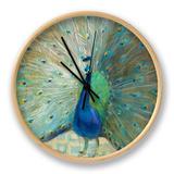 Blue Peacock on Gold Ur af Danhui Nai