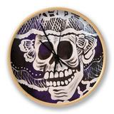 Catrina Skeleton, San Miguel De Allende, Mexico Clock by John & Lisa Merrill