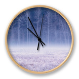Frosty Morning Meadow, Yosemite Clock by Vincent James