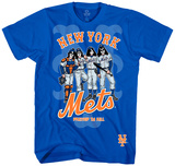 Kiss - Mets Dressed To Kill T-shirts