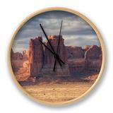 Morning Outside Moab, Utah Clock by Vincent James