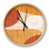 Costa del Sol I Clock by Mo Mullan