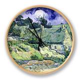 Vincent van Gogh - Thatched Cottages at Cordeville, Auvers-Sur-Oise, c.1890 - Saat